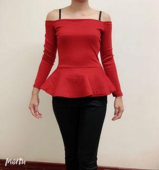 Top black /red