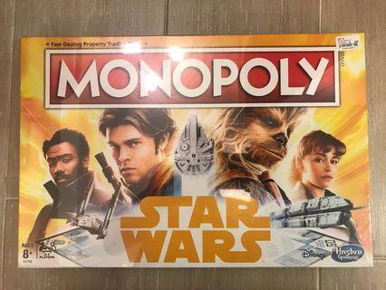 迪士尼星球大戰系列— 美國原裝Star War 大富翁一盒(Made in USA)