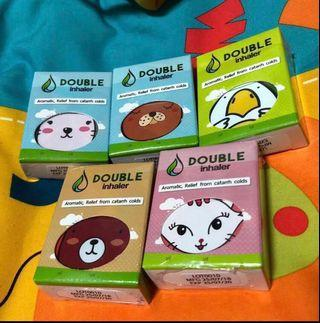 Double Inhaler Original style Thai Hurb Herbal Smell