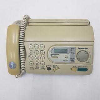 Mesin fax panasonic kx-ft33