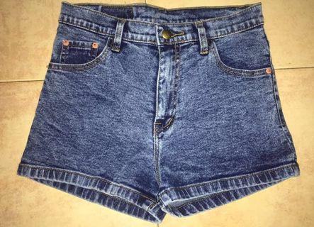 🚚 (NEGOTIABLE)High waisted denim shorts