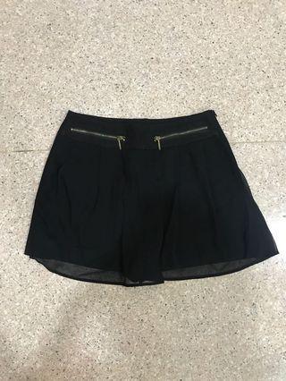 Zara black bottom