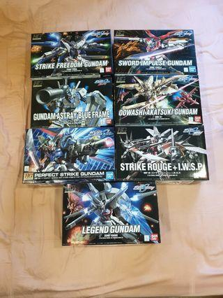 <Bundle> HG Gundam Seed Destiny