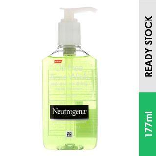 Redness Soothing Facial Cleanser, Neutrogena Oil Free Acne Wash (177ml)