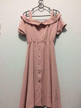 Beautiful Dusty Pink Dress
