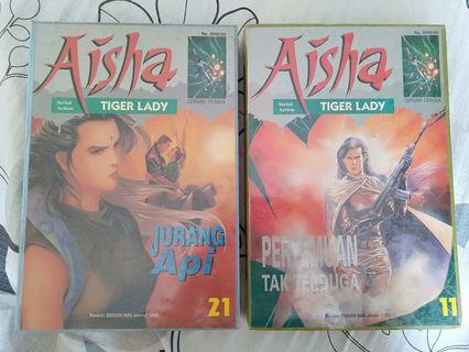 #Komik Aisha Lady Tiger LANGKA