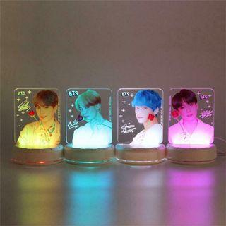 🥰[PO] BTS LED Nightstand/Night Lamp/Night Light