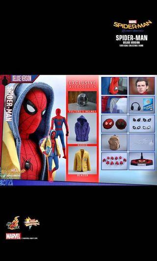 Hot Toys Spiderman Homecoming 1:6 Figure