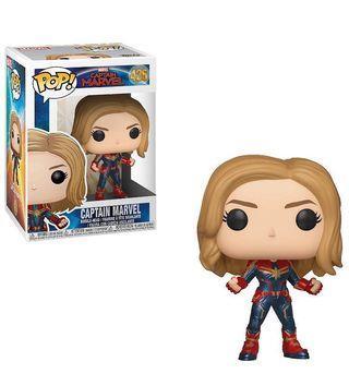 Funko Pop! Marvel: Captain Marvel (Styles May Vary) Toy, Multicolor 驚奇隊長 marvel 隊長 公仔#MTRmk