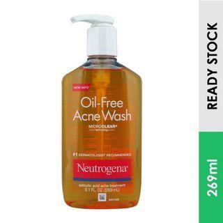 Neutrogena Oil-Free  Salicylic Acid Acne Wash (269 ml)