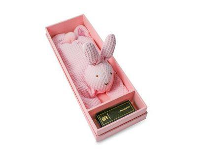 EXCLUSIVE ROSE-SCENTED RABBIT EYE PILLOW (gift set)