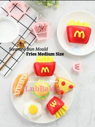 Pre-Order Steamed Bun Fries Mould  (3 pcs)