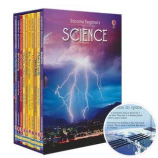 [USBORNE] Beginners Science Story set