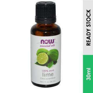 100% Lime Essential Oil, Now Foods (30ml)