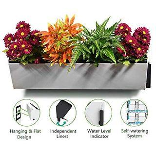 Wall or Stacking Planter box #endgameyourexcess