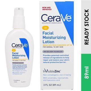 CeraVe AM Facial Moisturizing Lotion, SPF 30 (89 ml)