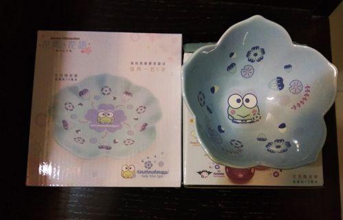 7-11 Sanrio 青蛙碟+碗(一套兩件)