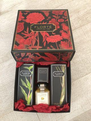 Brand new Florte floral tea honey gift set 花茶蜜糖禮盒裝