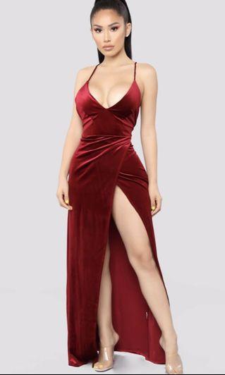 Red Prom/Formal Dress (Fashion Nova)