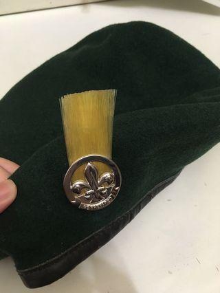 童軍 帽 連章