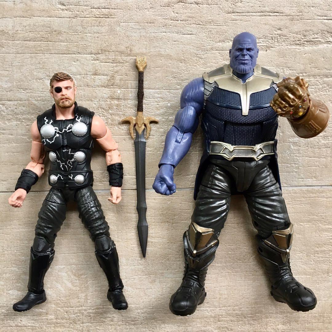infinity war ~ Thanos BAF Marvel Legends ~ THOR Action Figure ~ Avengers