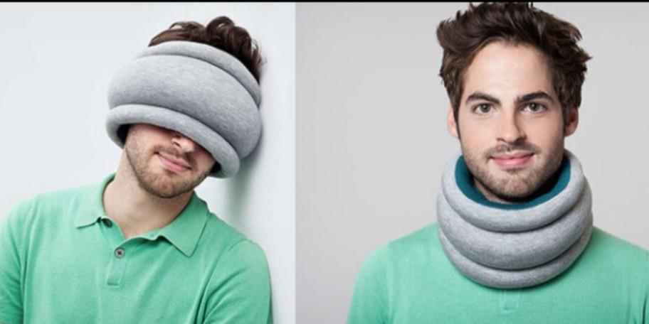2-in-1 travel pillow (brand new, lightweight)