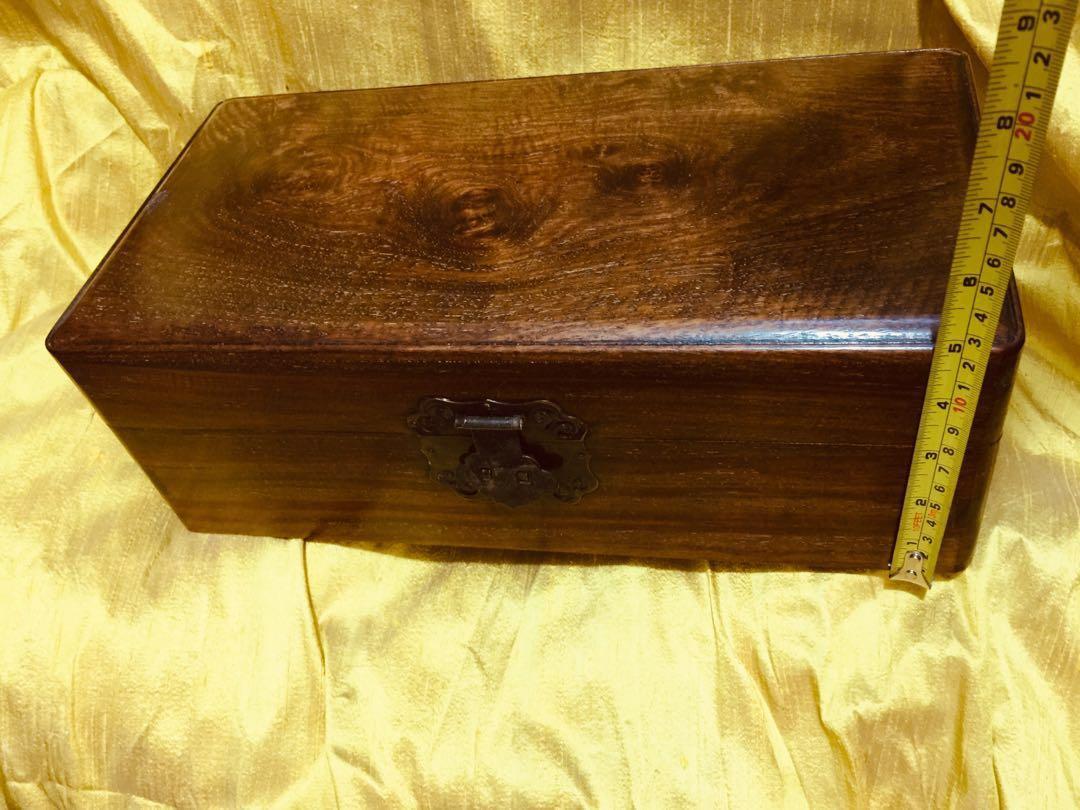 舊海南黃花梨精品,長方拜盒/收纳盒/收藏盒/首飾盒擺件