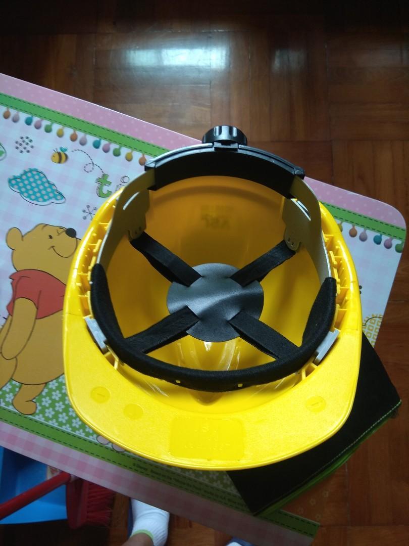 工作安全帽(黄色)