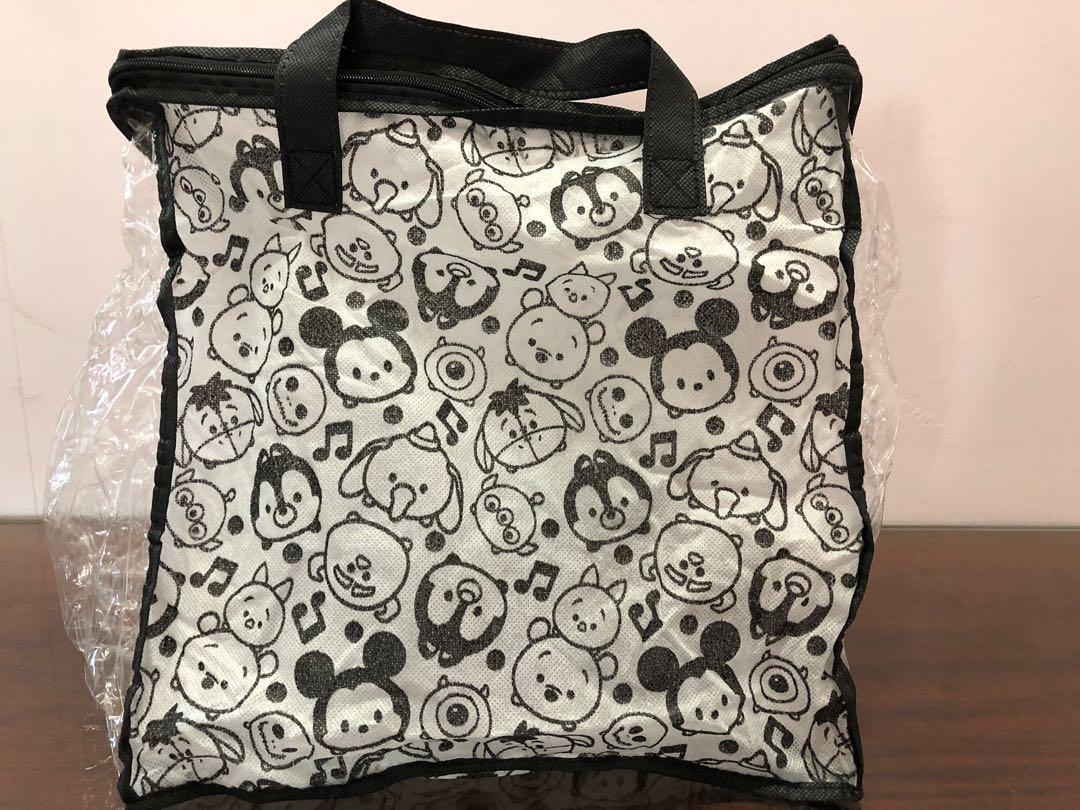 日本購入 迪士尼印花拉鍊收納包 收納袋 旅行包 衣物收納 tsum