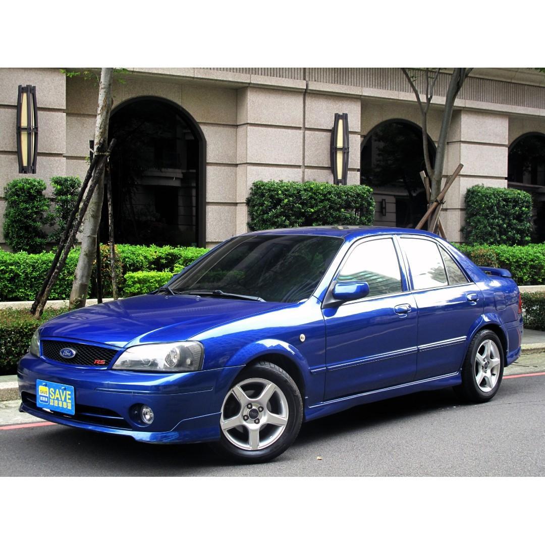 一手車 省油省稅 好保養 福特 TIERRA 藍1.6 RS