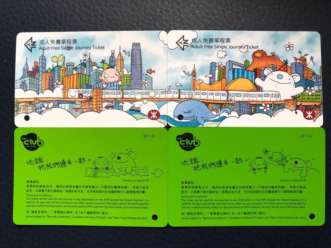 港鐵紀念車票 #MTRtko