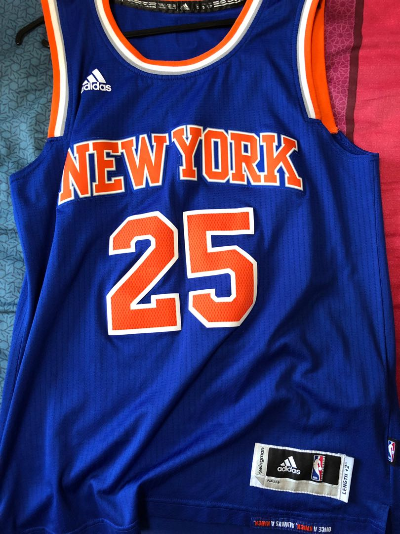 huge selection of 6affe db910 Adidas Derrick rose New York Knicks jersey