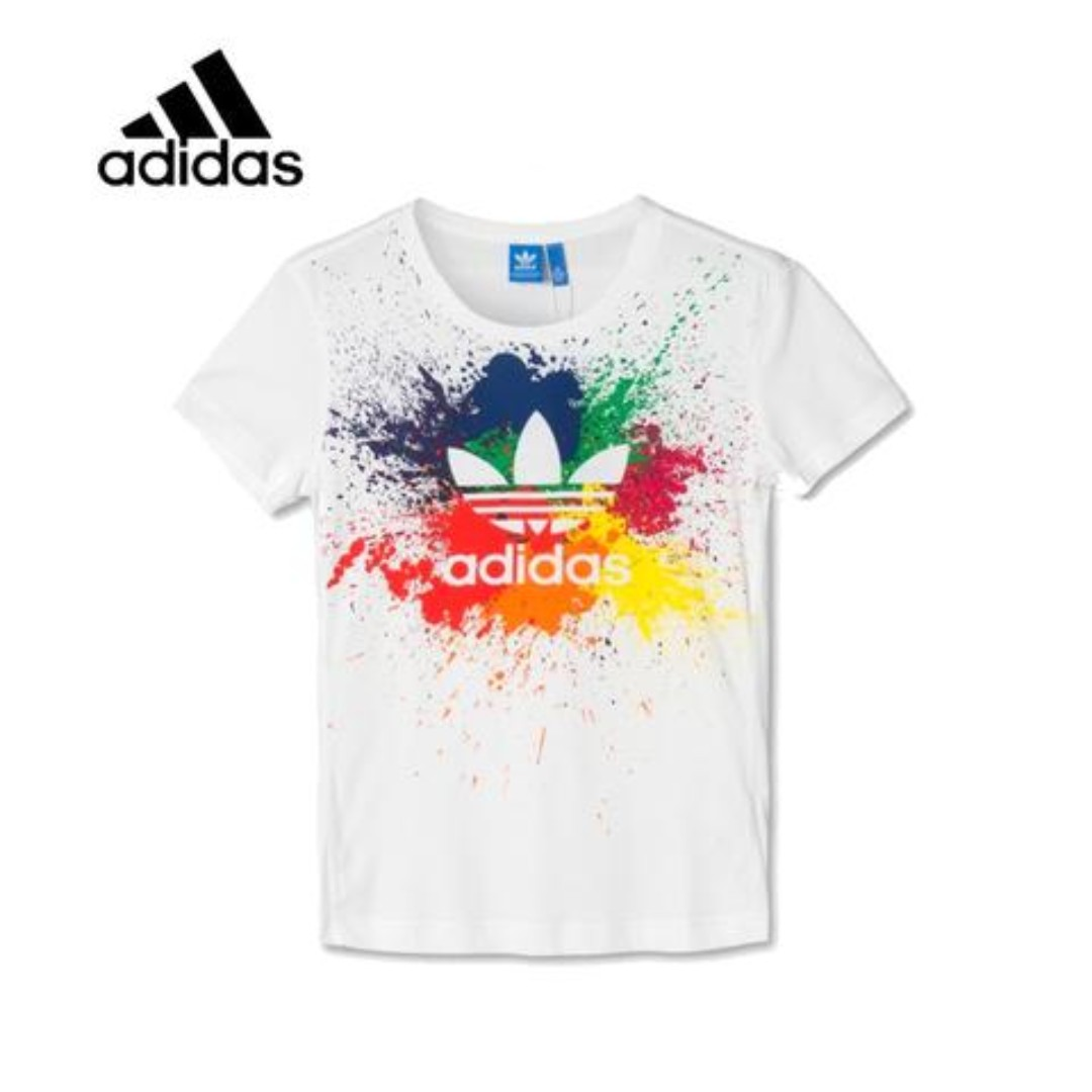 meilleure sélection eb945 899bc ADIDAS T-SHIRT (Splash), Men's Fashion, Clothes, Tops on ...