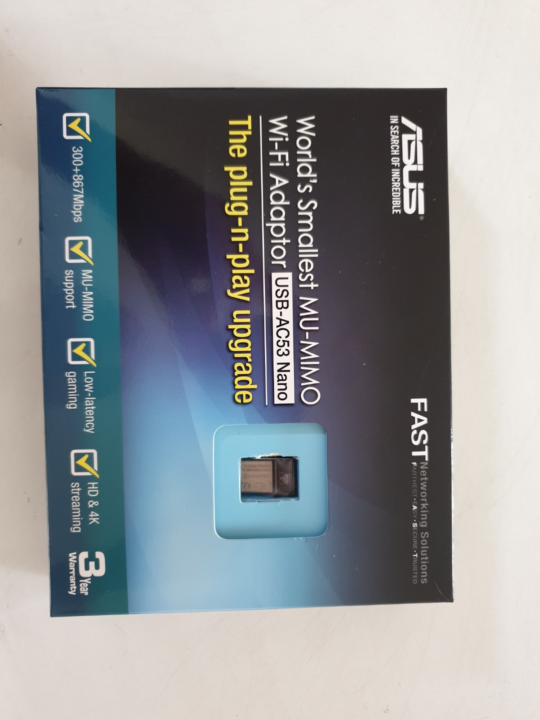 ASUS Wireless Adapter USBAC53 nano