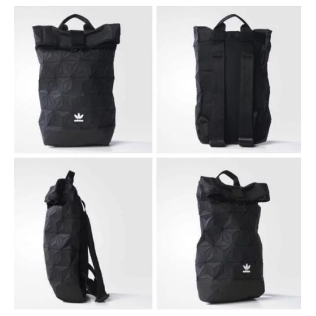 Authentic Adidas Issey Miyake Backpack Black