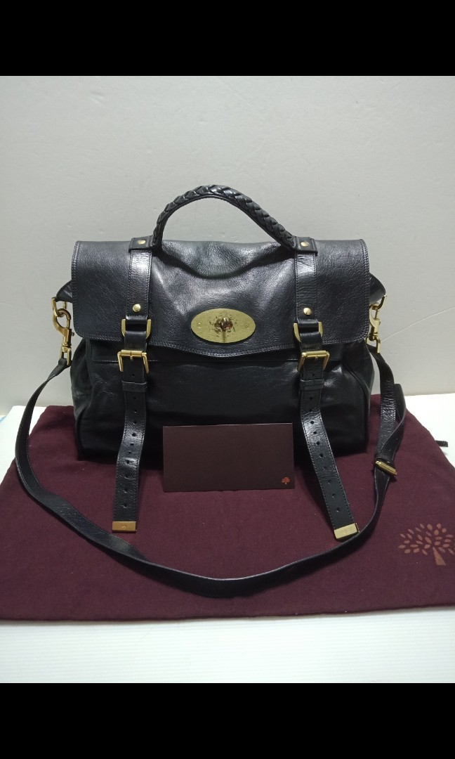 238ec9eb74e Authentic Mulberry Alexa, Luxury, Bags & Wallets, Handbags on Carousell