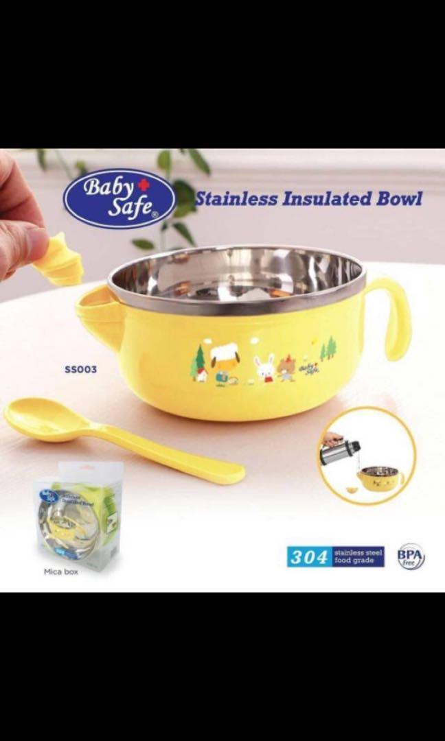 Babysafe Bowl Mangkok Makan Mpasi