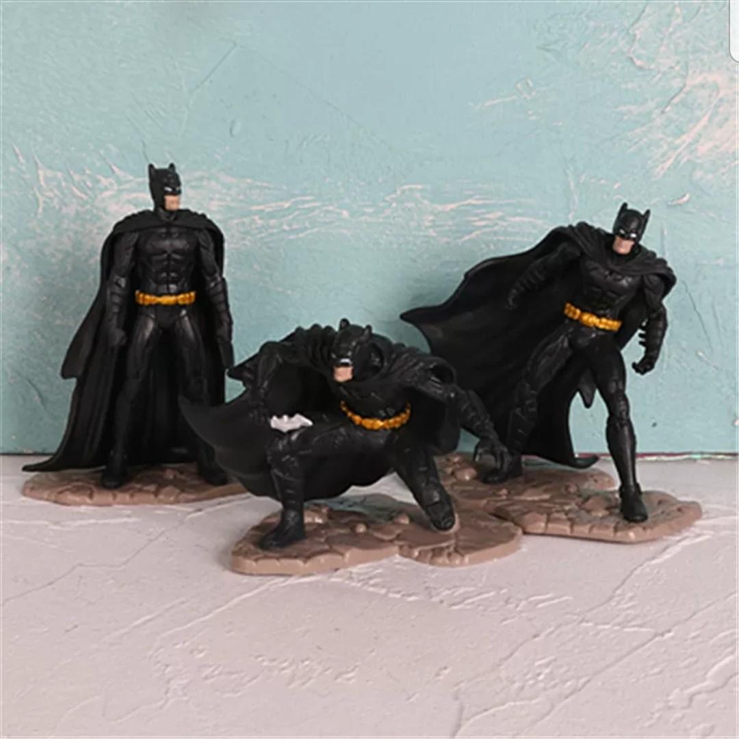 Batman Birthday Cake Topper Party Supplies Car Decoration Toys