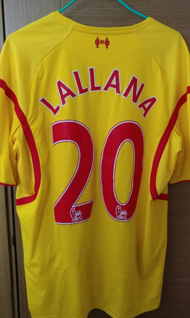 [BB來了清屋蝕讓] 利物浦 Liverpool 2014-15 作客球衣