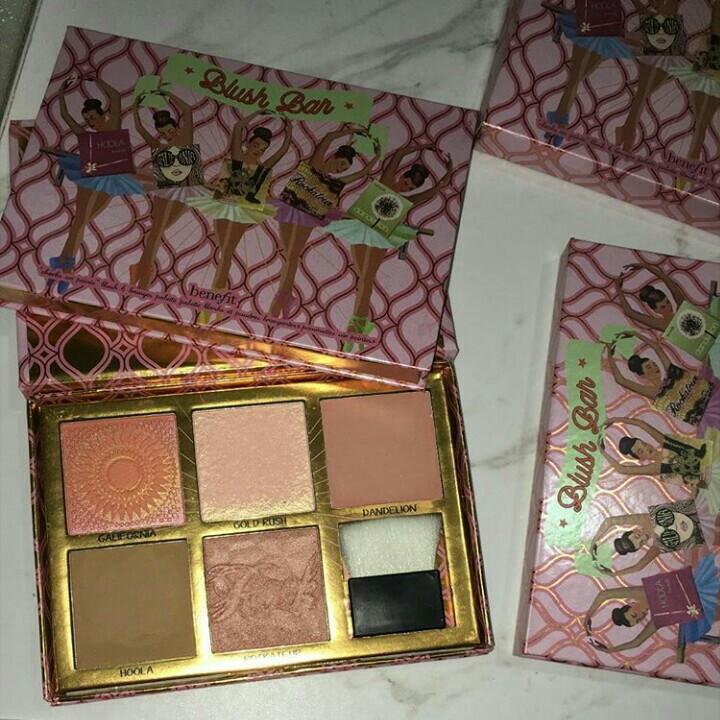 Benefit blush bar (blush on,highlighter,bronzer)
