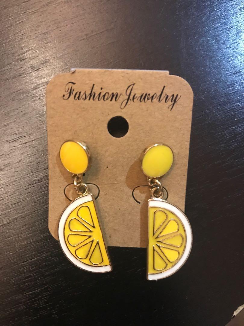 Brand new Lemon Earrings