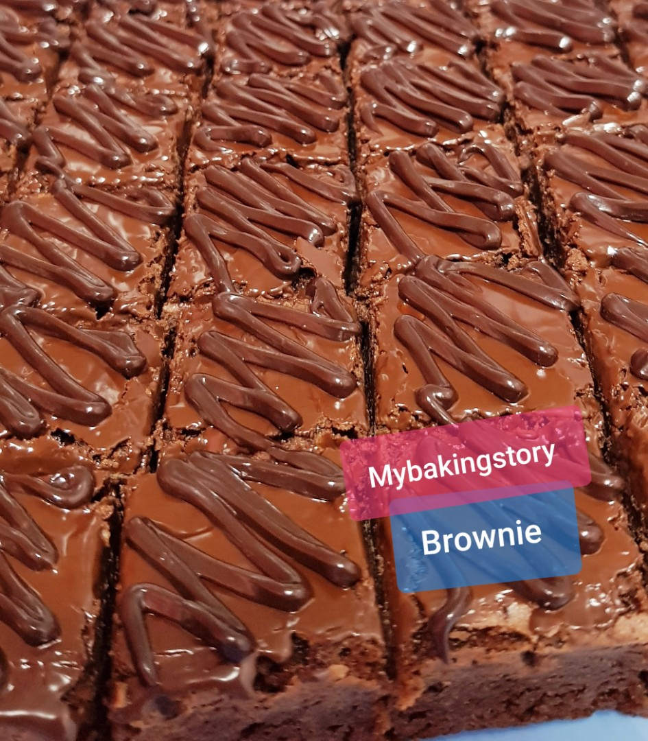 Brownies double chocolate & Nutella