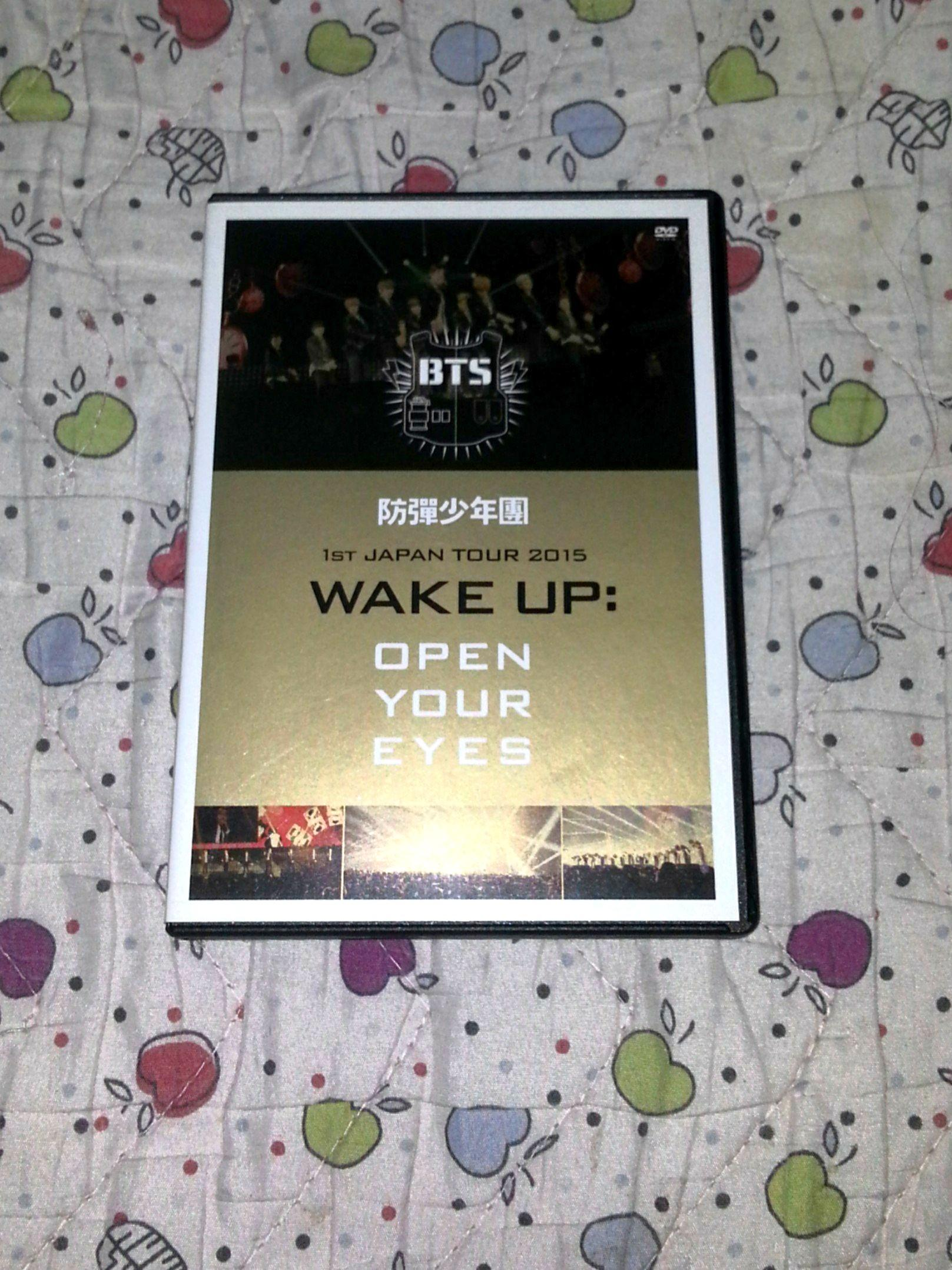 BTS Wake Up : Open Your Eyes DVD (Japanese Edition)