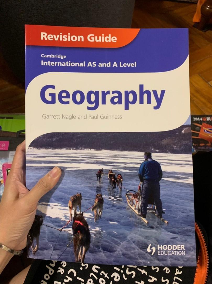 Cambridge Geography revision guide