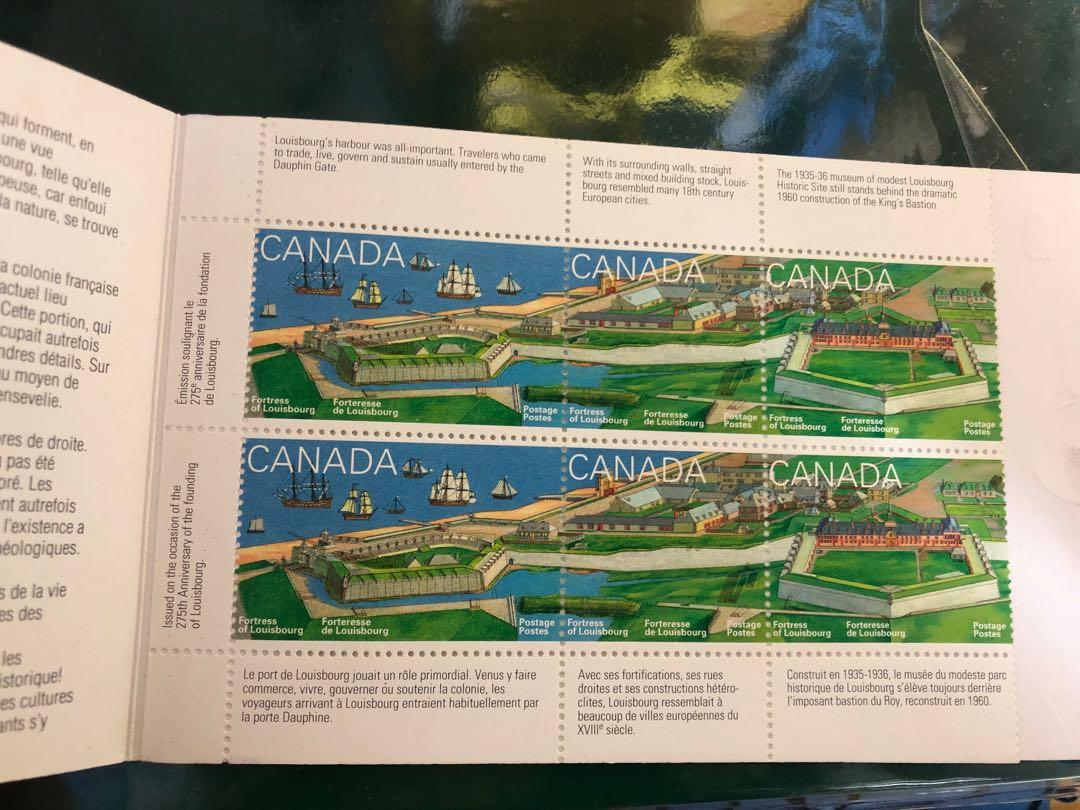 Canada Fortress of Louisbourg Stamp 郵票