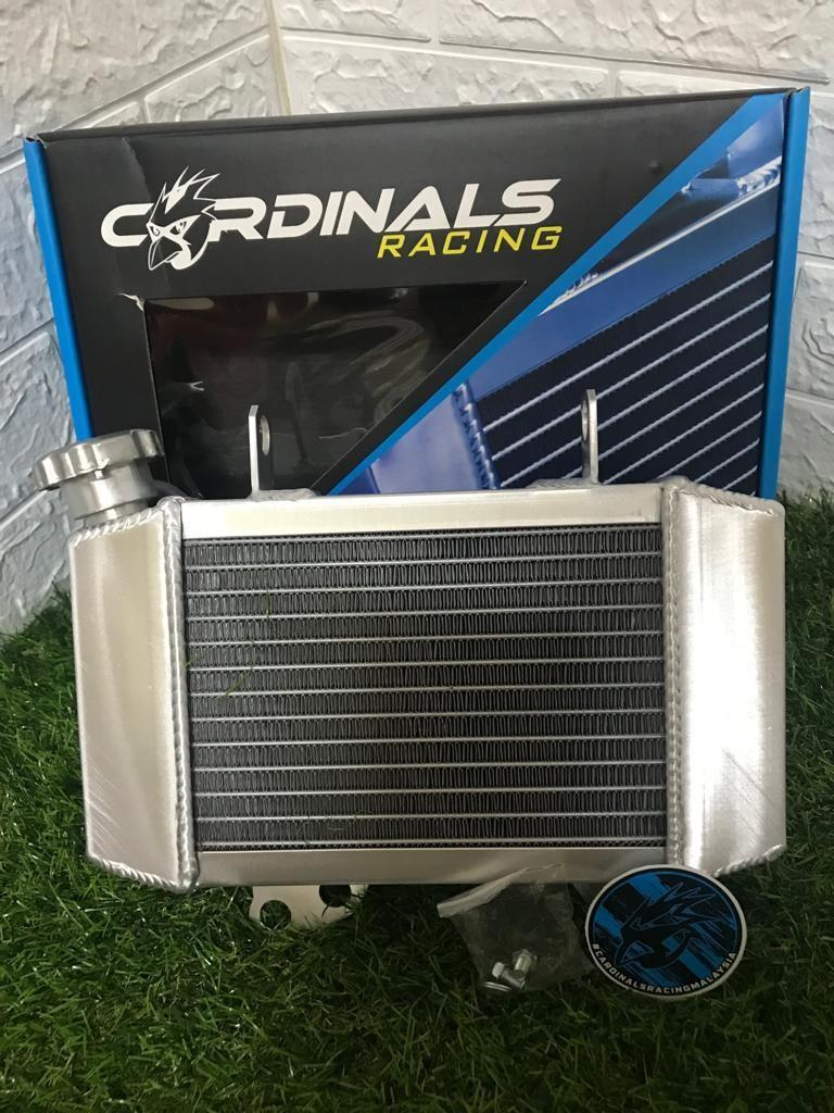 Cardinals aluminium 500ML (over size) radiator Honda rs150