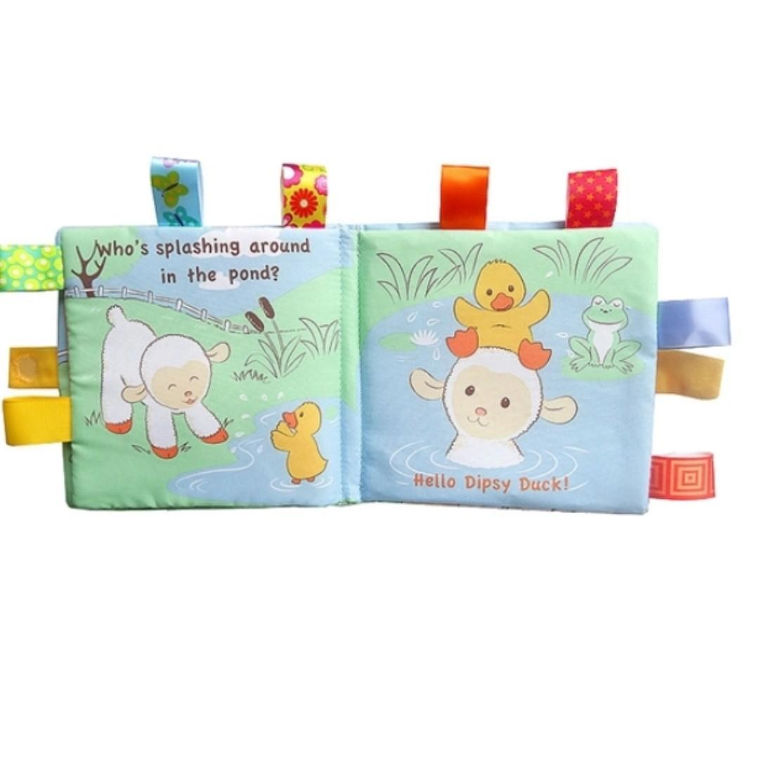 Children Interactive Cloth books