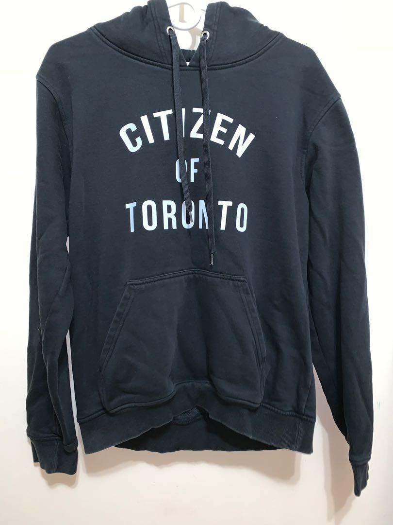 Citizen Of Toronto black hoodie