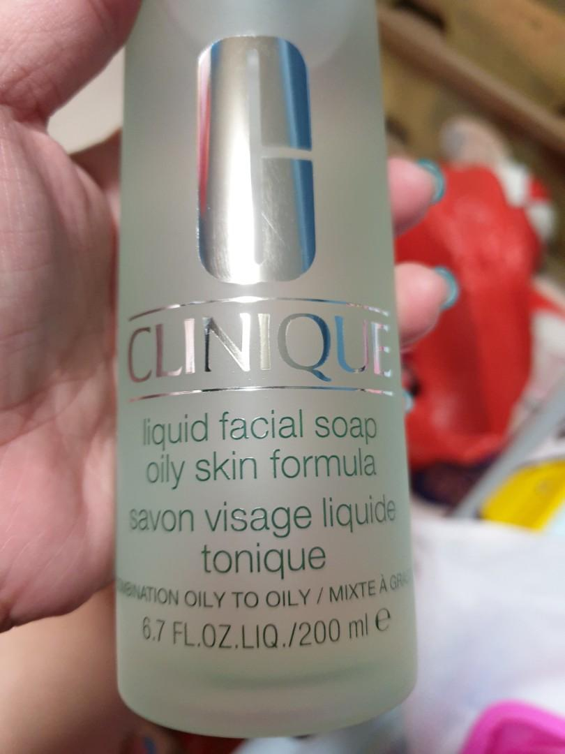Clinique Liquid Facial Soap Mild 200ml.