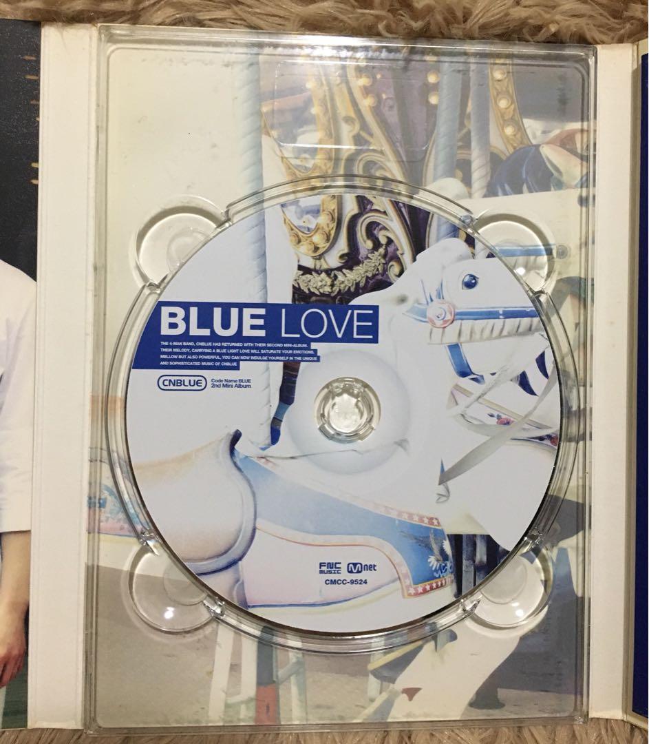 CNBLUE Blue Love autograph version